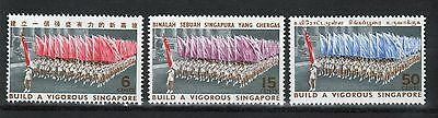 Singapore set of stamps to celebrate National Day 1967.