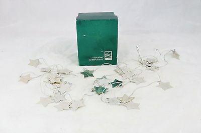 Lunt Star Garland Ornament with box