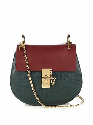 Chloé Two-tone Drew Small Leather Shoulder Bag