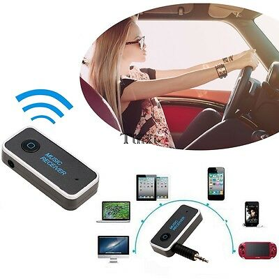 Auto Ricevitore Bluetooth 4.1 Wireless 3.5mm AUX Audio Stereo