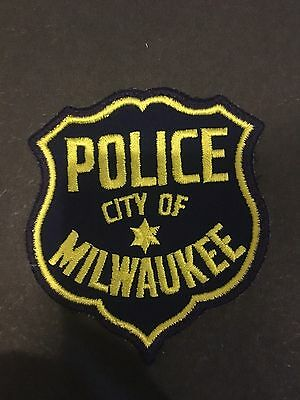 City Of Milwaukee  Police Shoulder  Patch