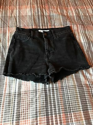 Womens Abercrombie & Fitch Denim Shorts Size 0
