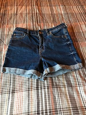 Womens Bershka Denim Shorts Size 8