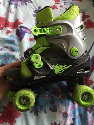 No Fear Roller Boots Adjustable Size, Size 1 - 4