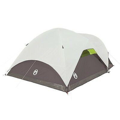 Coleman Steel Creek Fast Pitch Dome 6 Person Tent with Screen Room