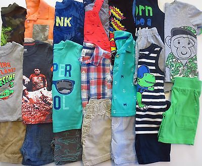 Lot Toddler Boys Size 24 Months 2T Spring Summer Clothes