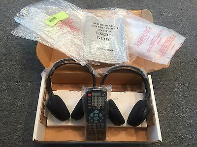 Set of 2 MAZDA Wireless DVD Headphones and Remote OEM in Box !