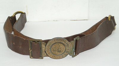 Vintage 1969 Jamboree Uniform Belt