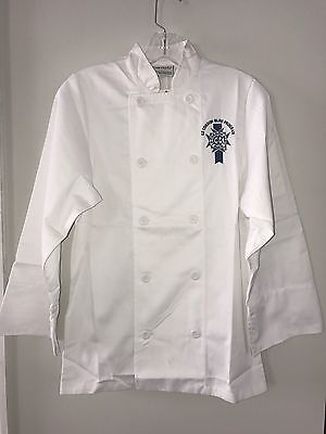 Chef Works Le Cordon Bleu Paris Culinary Program Chef Jacket, NWT, XXS