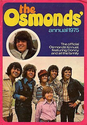 The Osmonds Annual 1975 Book