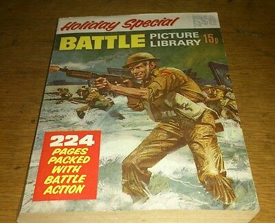 Battle Picture Library Holiday Special, 1971, Fine Condition