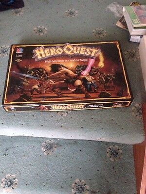 Hero Quest Board Game. Complete in good condition