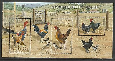 2013 Australian Poultry Breeds M/s Used.
