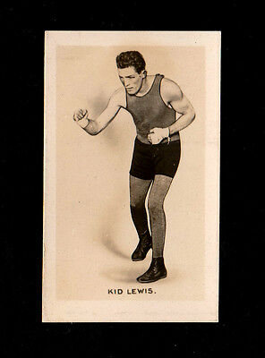 """Union Jack 1923 Scarce ( Boxing ) Card """" # 3 Kid Lewis -- Monarchs Of The Ring"""