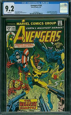 Avengers 144 CGC 9.2 - White Pages
