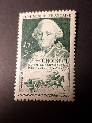 FRANCE 1949, JOURNEE timbre 828, CELEBRITE' DUC CHOISEUL, neuf**, VF MNH STAMP