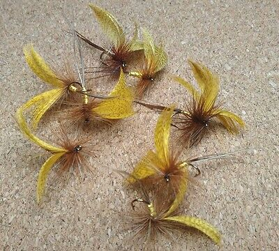 Mayfly Trout Buzzers Trout Lures Dry Fly Fishing Trout Flies