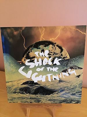"oasis the shock of the lightning 12"" promo vinyl record"