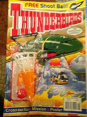 Thunderbirds Redan Comic Issues 41 with free gift Gerry Anderson