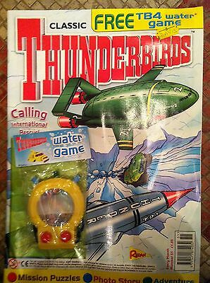 Thunderbirds Redan Comic Issues 51 with free gift Gerry Anderson
