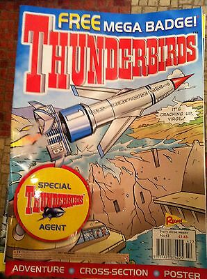 Thunderbirds Redan Comic Issues 42 with free gift Gerry Anderson
