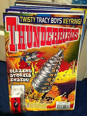 Thunderbirds Redan Comic Issues 34 with free gift Gerry Anderson