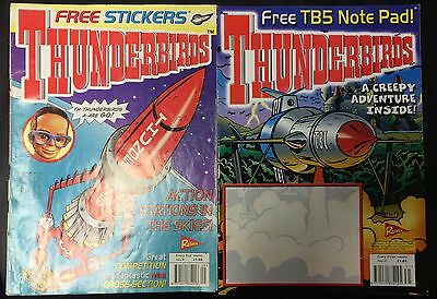 Thunderbirds Redan Comic Issues 9 & 31 Gerry Anderson Stingray Captain Scarlet