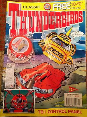 Thunderbirds Redan Comic Issues 43 with free gift Gerry Anderson