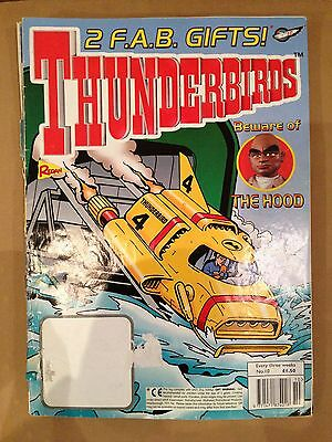 Thunderbirds Redan Comic Issue 10 Gerry Anderson Stingray Captain Scarlet