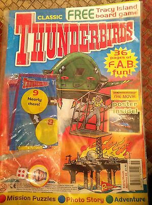 Thunderbirds Redan Comic Issues 55 with free gift Gerry Anderson