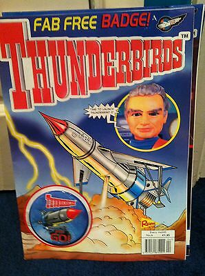 Thunderbirds Redan Comic Issues 4 WITH FREE GIFT Gerry Anderson