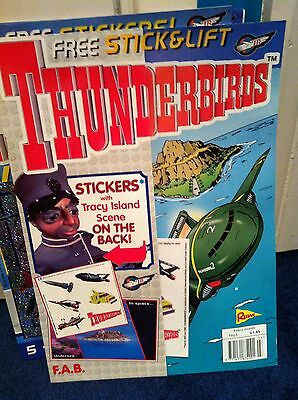 Thunderbirds Redan Comic Issues 3 WITH FREE GIFT Gerry Anderson