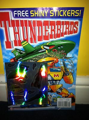 Thunderbirds Redan Comic Issues 35 with free gift Gerry Anderson