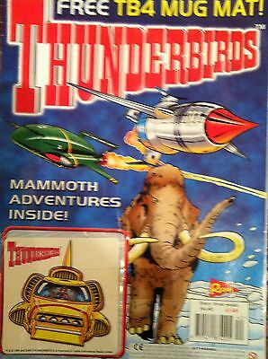 Thunderbirds Redan Comic Issues 40 with free gift Gerry Anderson