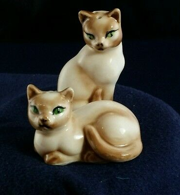 Vintage Siamese Cats, Salt and &  Pepper set