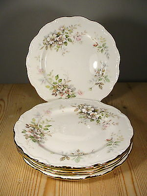 "Royal Albert ""Haworth"" Six Breakfast Plates"
