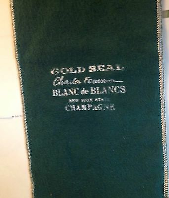 Old New York State Champagne Bag Gold Seal