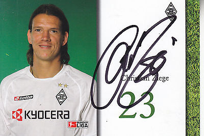 Christian Ziege Signed Picture
