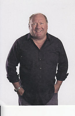 Alan Brazil Signed Picture