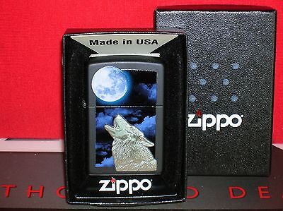 New Zippo Howling Wolf Lighter - #28879 - We Ship Fast-Save $$ Here!