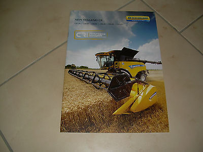 New Holland Moissonneuse Batteuse Cr
