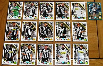 Equipe Angers - Lot 16 Cartes Panini Adrenalyn Xl 2016 / 2017 - Foot