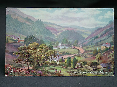 Vintage RAPHAEL TUCK & SONS' OILETTE Post Card COUNTY WICKLOW. 1907