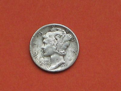 1936 United States One Dime Coin