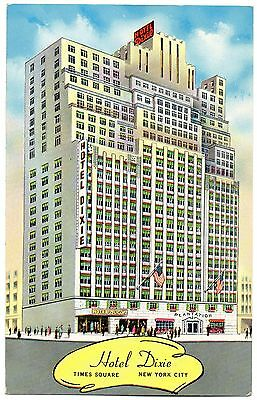 U.s.a. - Hotel Dixie - Times Square - New York. - Art Drawn Card
