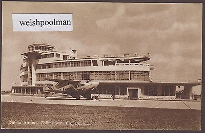Lovely Vintage Dublin Airport Collinstown Co Dublin c.1940's Eire Ireland