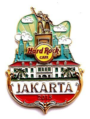 HRC Hard Rock Cafe Jakarta Icon City Series Pin