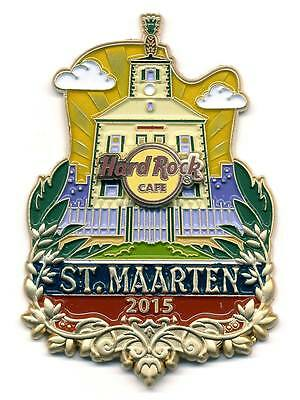 HRC Hard Rock Cafe St. Maarten Icon City Series Pin