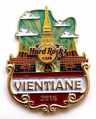 HRC Hard Rock Cafe Vientiane Icon City Series Pin