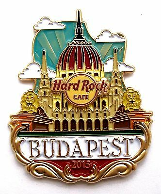 HRC Hard Rock Cafe Budapest Icon City Series Pin